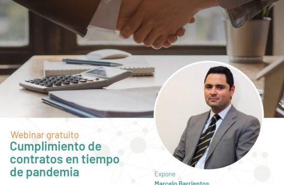 Charla: Cumplimiento de contratos en tiempo de pandemia