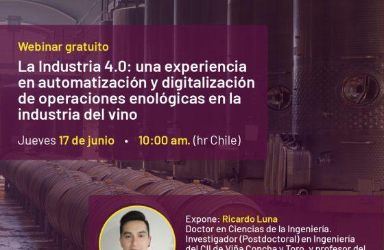 Charla: La Industria 4.0: Una experiencia en automatización y digitalización de operaciones…