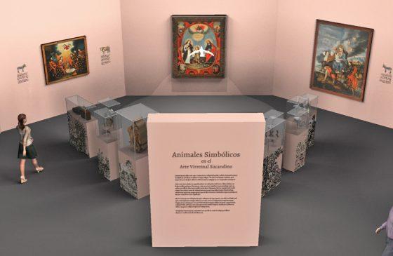 Exposición Colección Gandarillas: Animales simbólicos en el arte virreinal