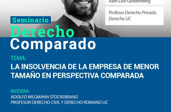 Seminario de Derecho Comparado: La Insolvencia de la Empresa de Menor Tamaño en Perspectiva Comparada